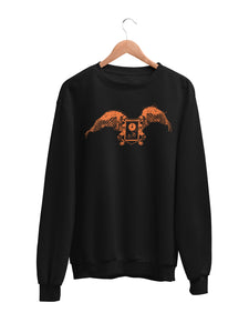 Sweatshirt with Fun Motif
