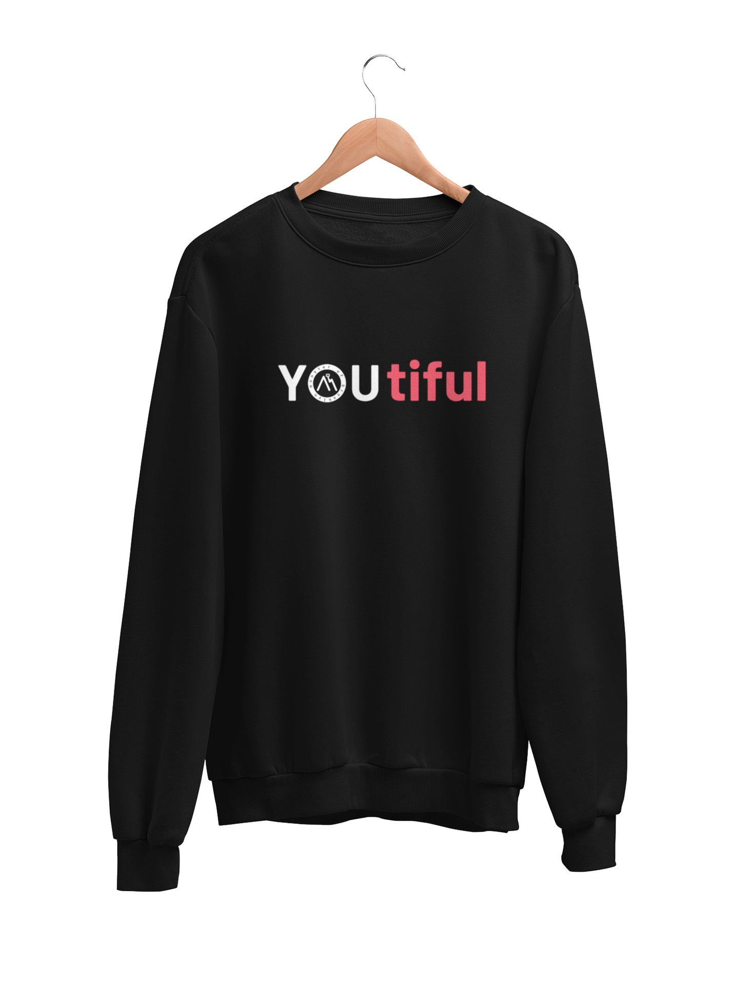 Sweatshirt with YOUtiful Motif - Women