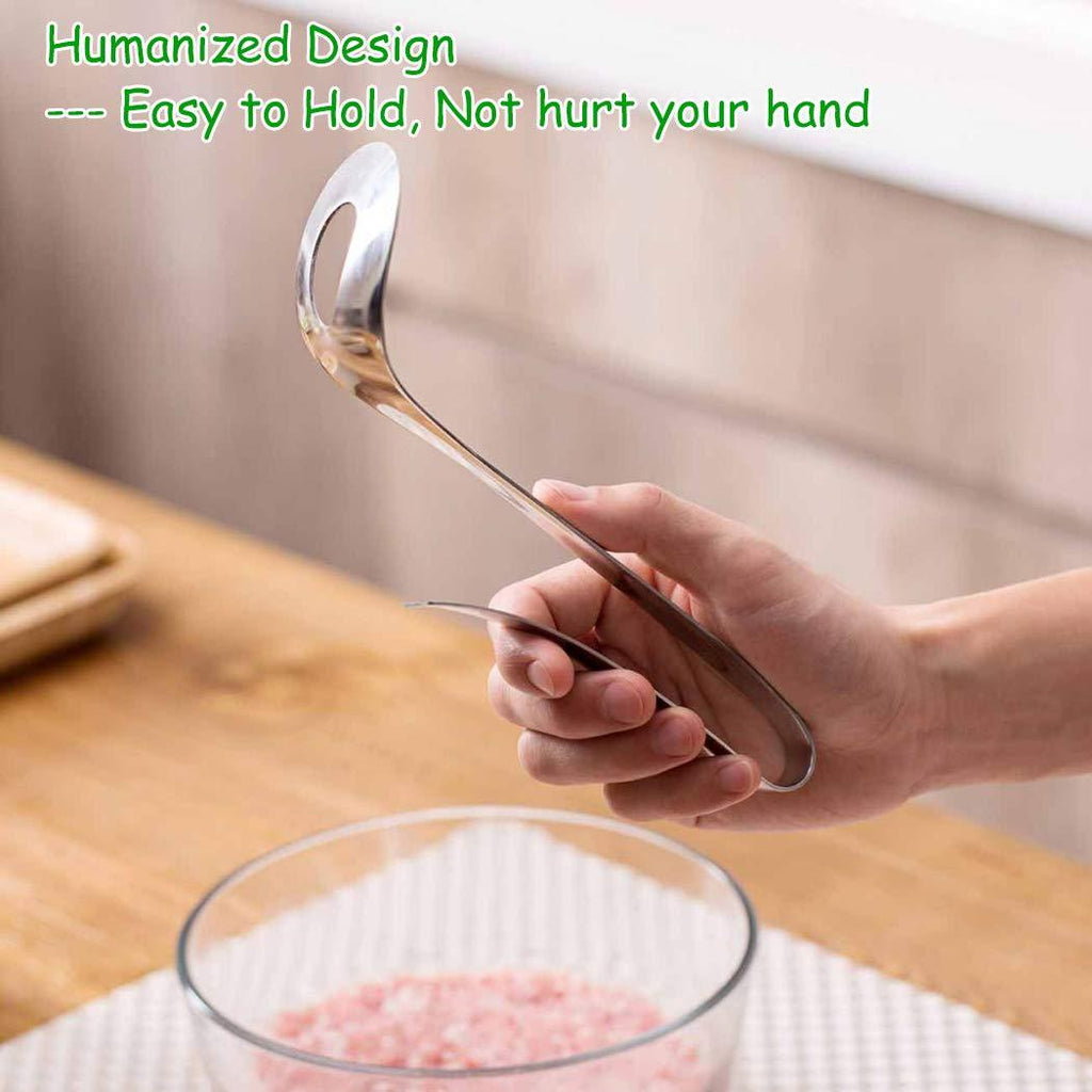 Stainless Steel Non-Stick Meatball Spoon