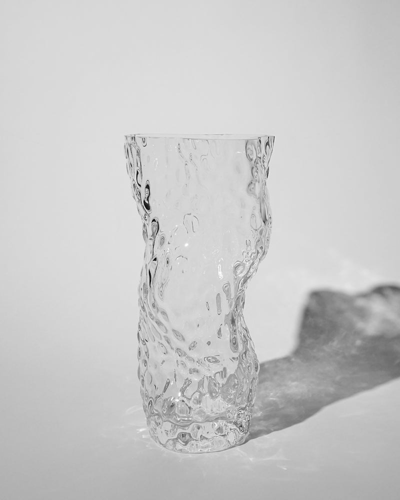 Ostrea ROCK Glass Vase / Clear