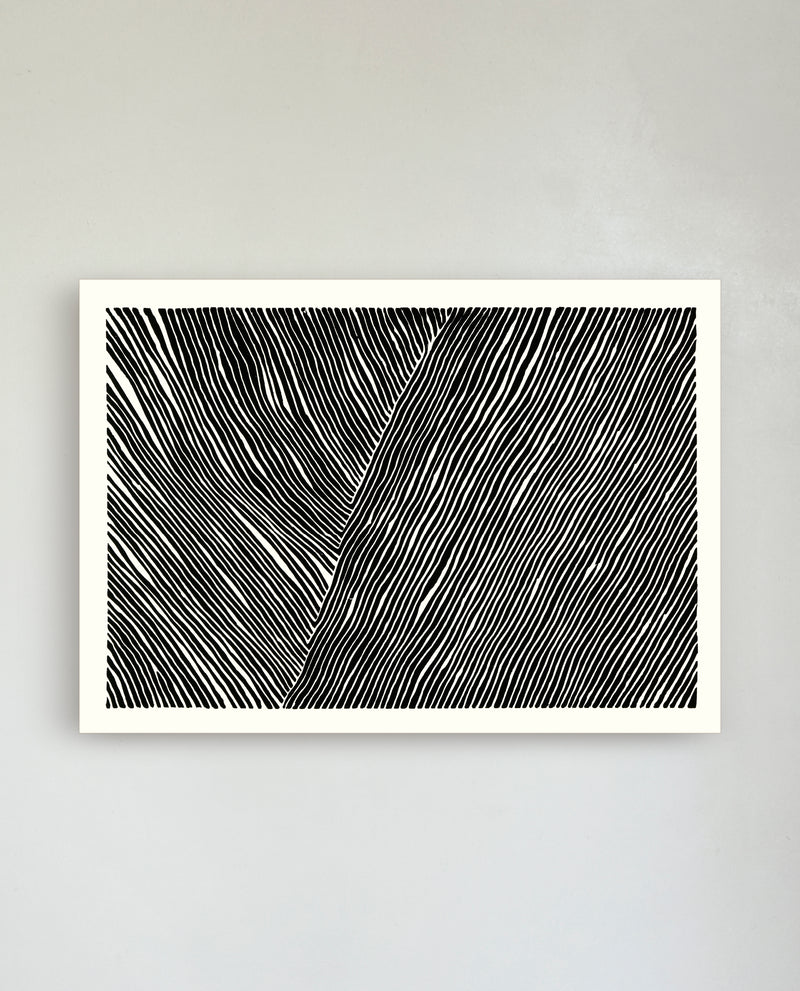 THE LINE collection no. 01 / A2 - 42x59,4 cm