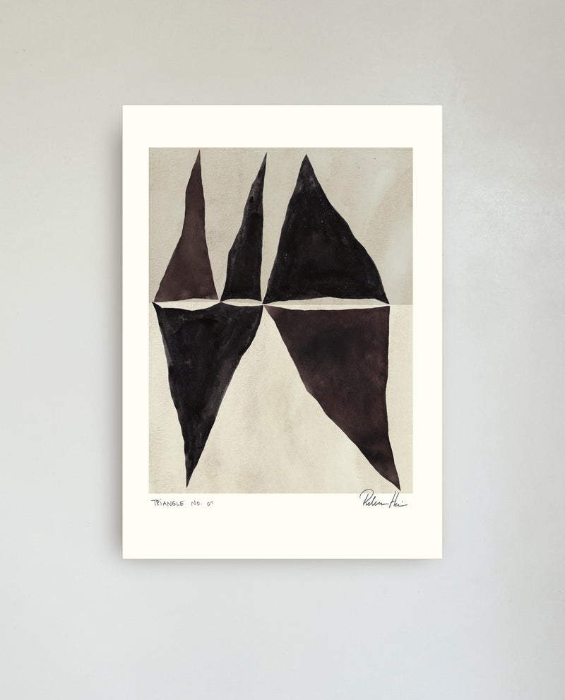 TRIANGLE no. 04  /  21 x 30 cm