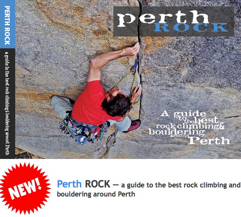 Perth Rock - Climbing Guide Book by Shane Richardson - The Hangout