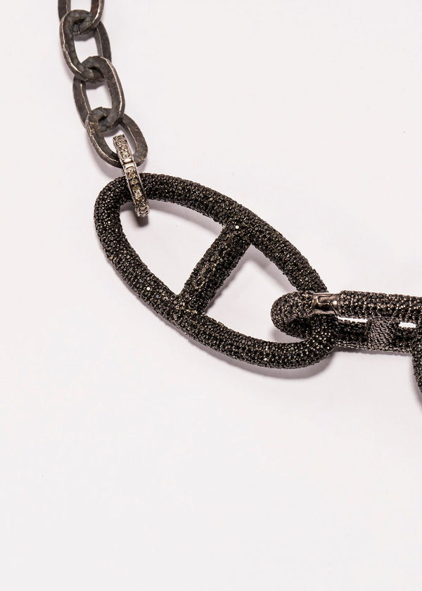 Black Spinel Rockstar Collection 3 #7153-Neck Pendant-Gretchen Ventura