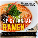 The Workshop Vegetarian Cafe - Frozen Spicy Tan Tan Ramen Broth