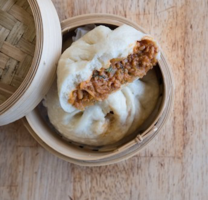"The Workshop Vegetarian Cafe -  Frozen ""Pork"" Bao 2 pack - $12.75"