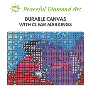 Psychedelic Chameleon - Square ⬜ - Peaceful Diamond Art