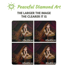 Load image into Gallery viewer, Rapunzel - Tangled - Square ⬜ - Peaceful Diamond Art