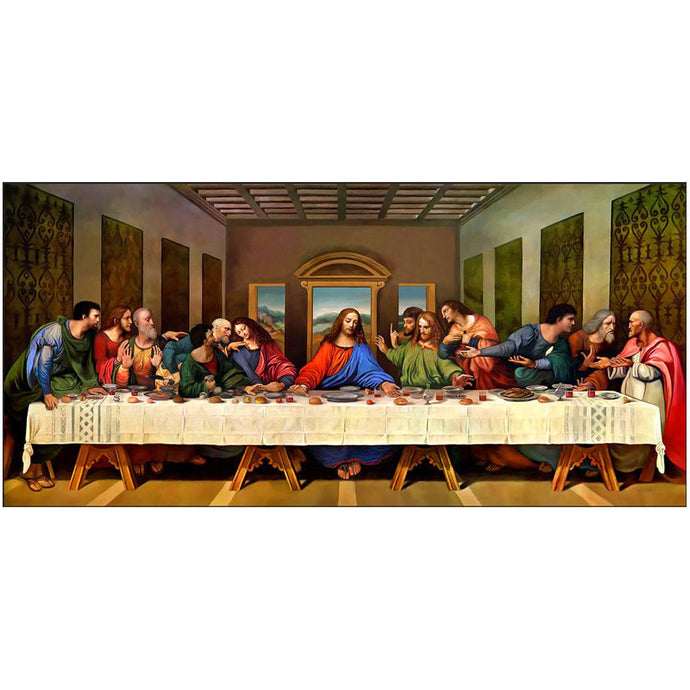 The Last Supper - Square ⬜ - Peaceful Diamond Art