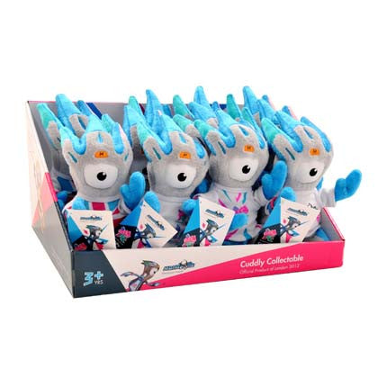 London 2012 Mandeville Paralympic Cuddly Collectables
