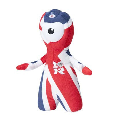 London 2012 45cm Wenlock Union Jack Olympic Mascot