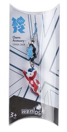 London 2012 Union Jack Olympic Charm Accessories