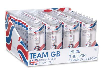 Team GB Pride Charm Accessories