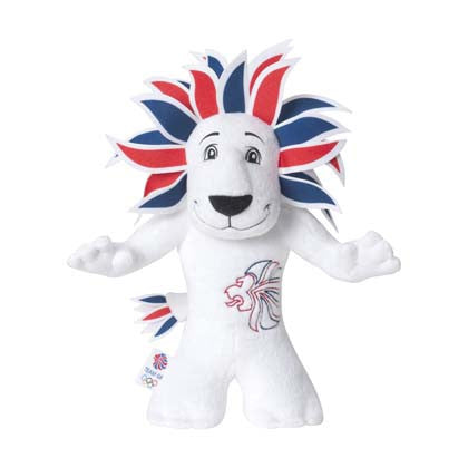 Team GB 20cm Pride Mascot Soft Toy