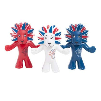 Team GB Pride Figurine Triple Pack