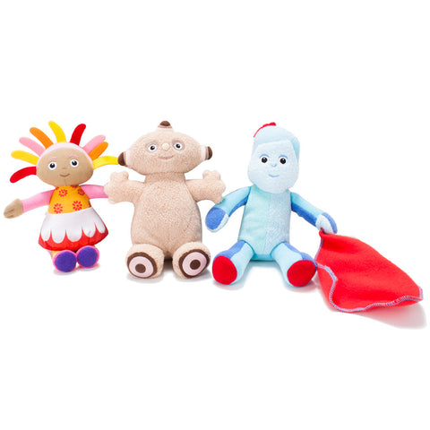 In the Night Garden Mini Soft Toys asst'd in 12pc CDU