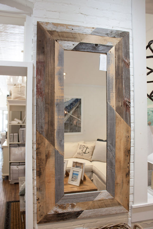 Real Barn Board Mirror