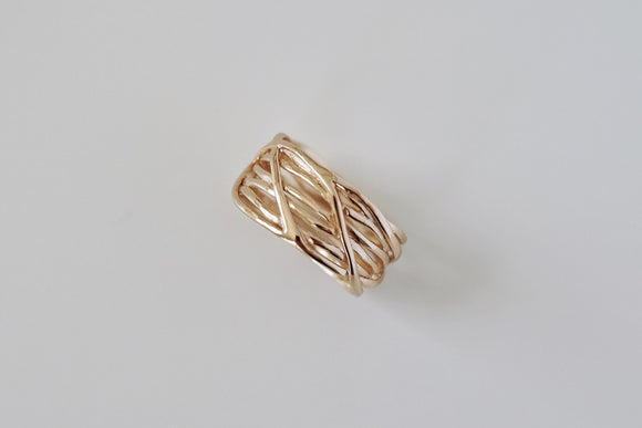 Rose Gold Nest Ring