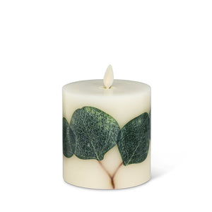 small eucalyptus flameless candle 3.5x4.5
