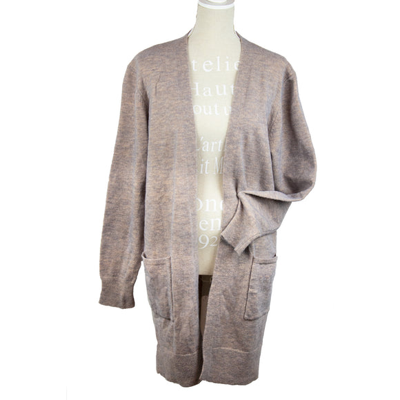 Light grey cardigan-ONE SIZE