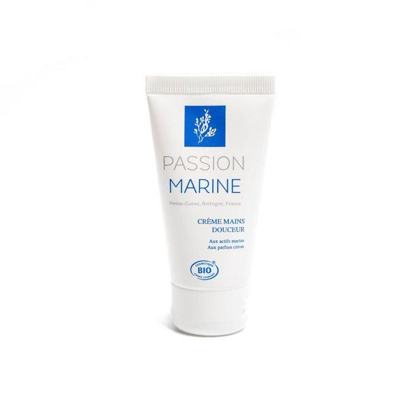Organic hand cream with seaweed - Passion Marine - 50 mL