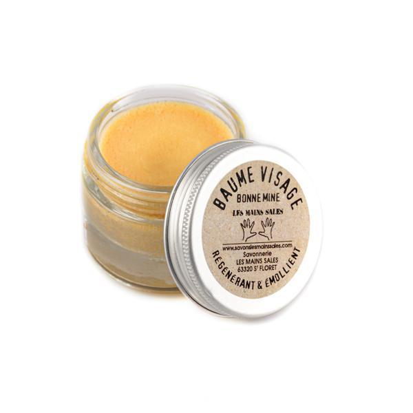 "Regenerating and emollient ""Healthy Glow"" balm - Without essential oils - Dry skin - Dirty hands - 30 mL"