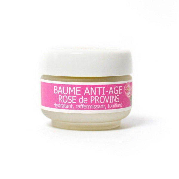 Anti-aging face balm with Rose de Provins - Plantes des Cévennes - 30 mL