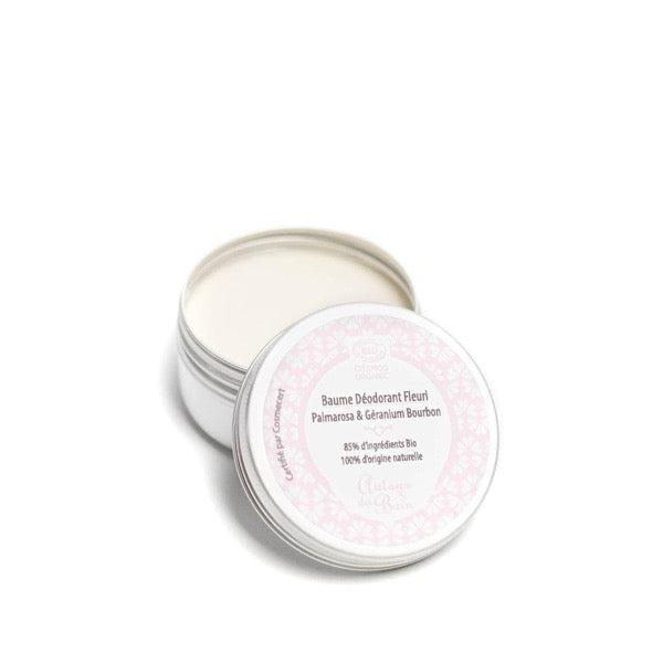Palmarosa and Geranium organic floral deodorant balm - 50 mL - Bathtub