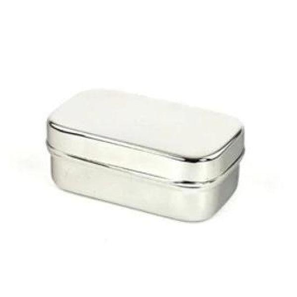 Boite à savon en inox (rectangle)