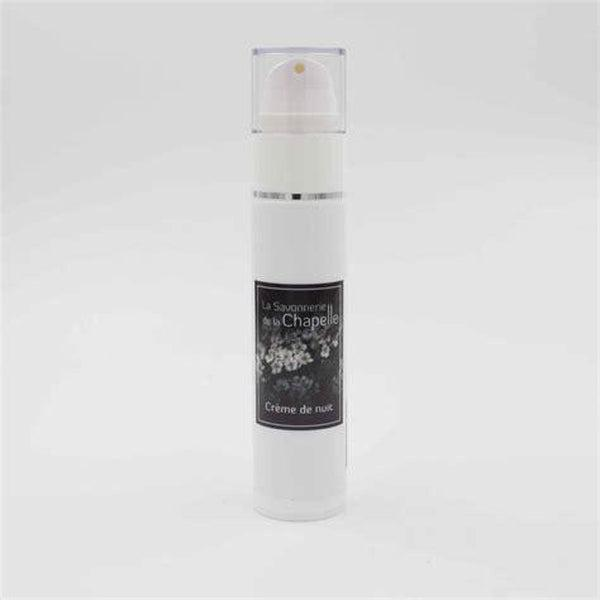 Hawthorn and Lemon Balm Night Cream - Mature skin - Savonnerie de la Chapelle - 50 mL