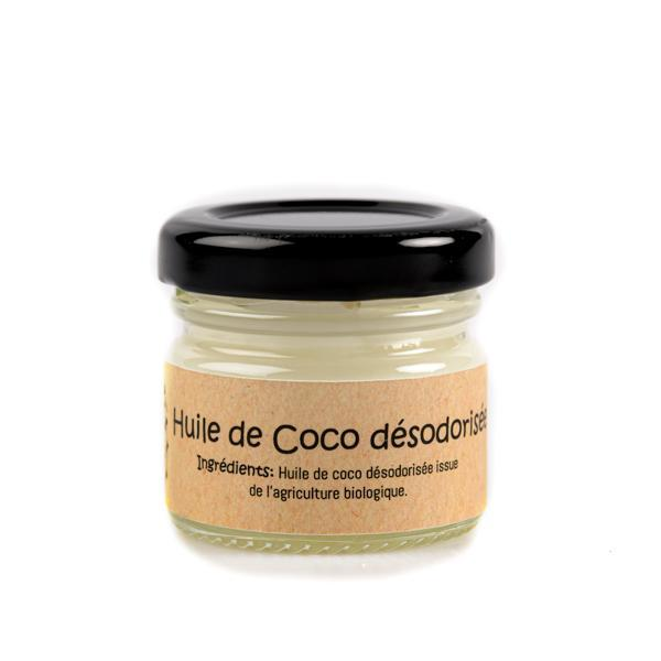 Coconut oil face and hair - All skin types - Green Utopie - 25gr