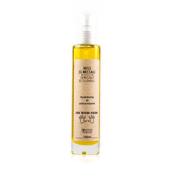 Calendula macerate massage oil - Without essential oils - Les Mains Dirty - 100 mL