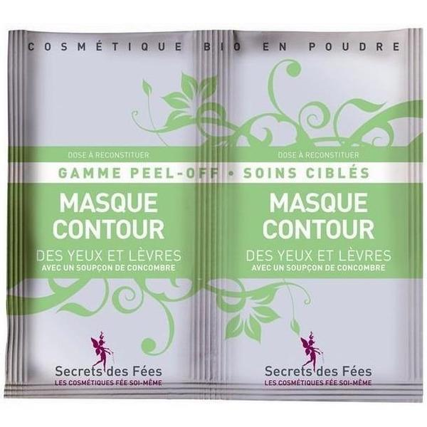 Eye and lip contour mask - DIY - Secrets des Fées - 2 doses x 6 gr