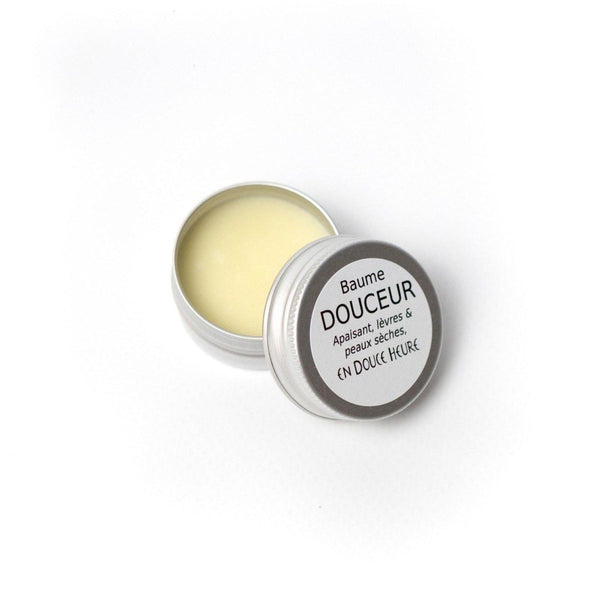 Mini Gentle Balm for dry and sensitive skin without essential oils - Savonnerie En Douce Heure - 10 gr