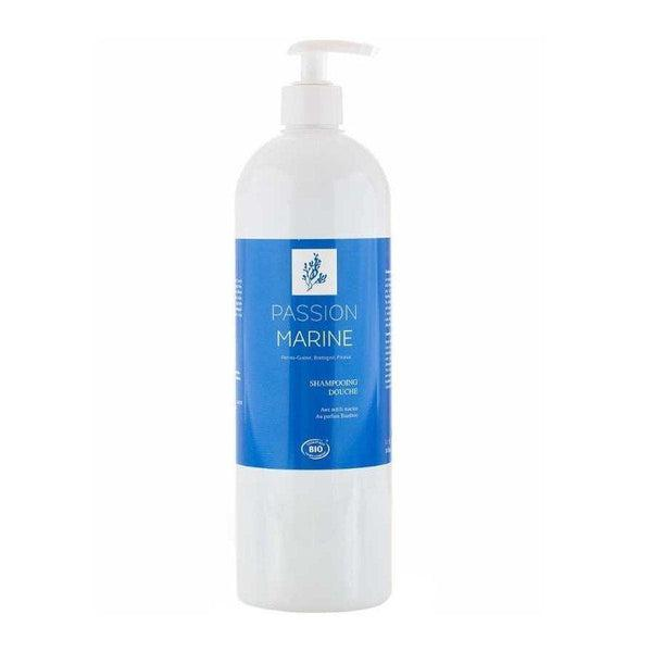 Shower shampoo with organic marine active ingredients - Bamboo fragrance - Passion Marine - 250 mL