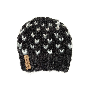 Tiny Dots Hat in Cold Shoulder 0-3 mos
