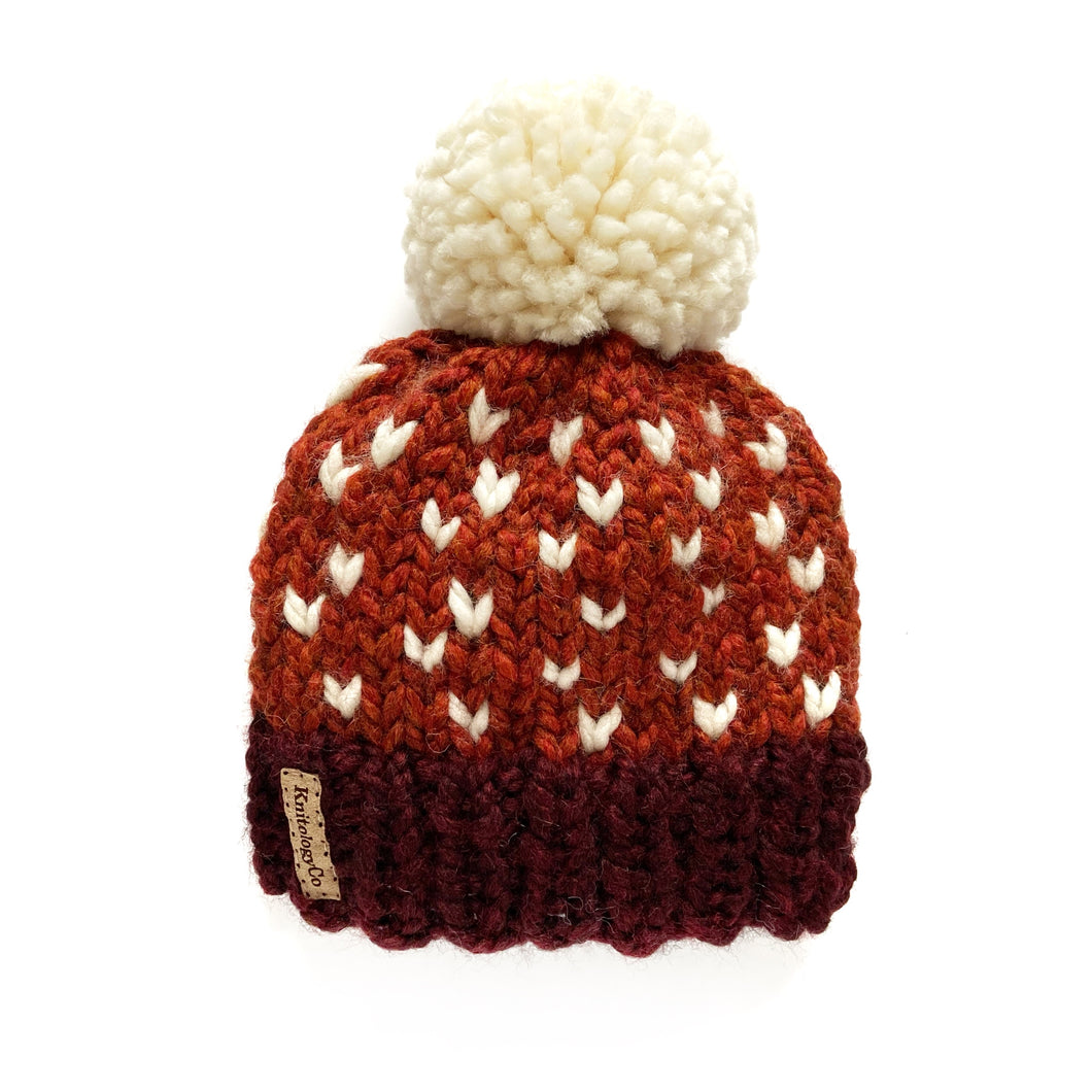 Tiny Dots Hat in Spice to Meet You