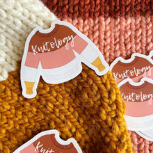 Load image into Gallery viewer, Sweater Sticker in Midcentury