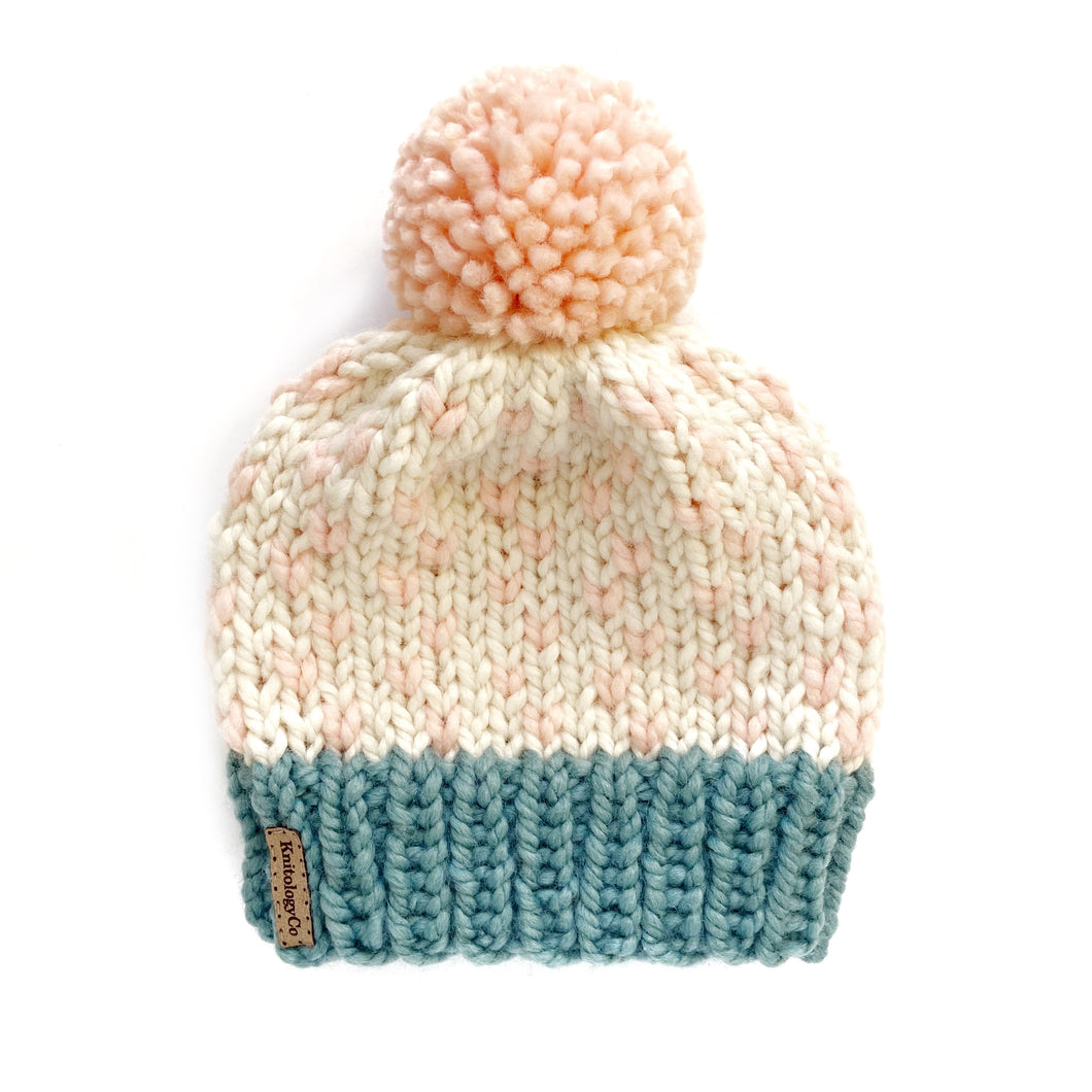 Tiny Dots Hat in Pastel Princess 4-9 yrs