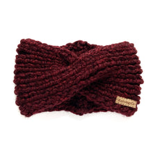 Load image into Gallery viewer, Charlotte Headband in Merlot