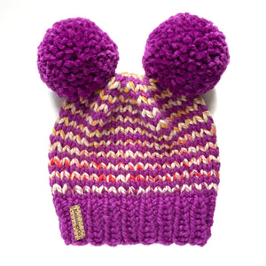 Tiny Stripes Hat in La Vida Loca 2-4 yrs