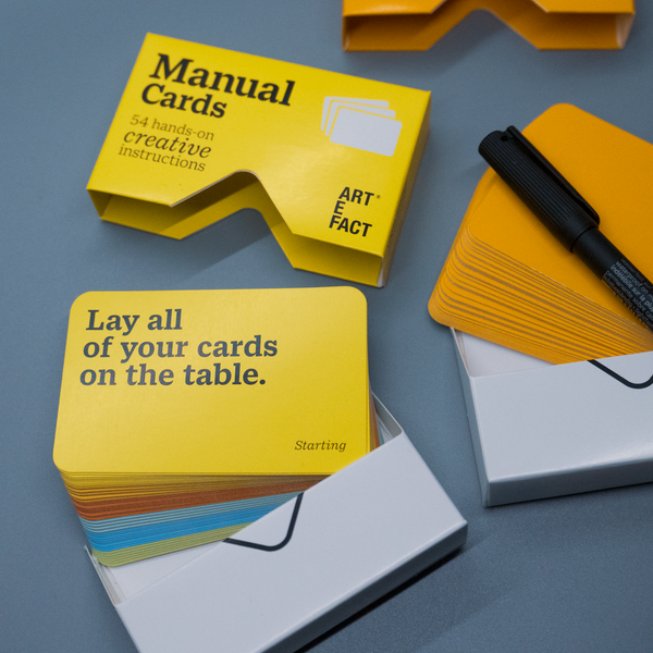Manual Cards - Gift Box