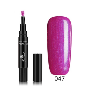 🔥Hot Sale! 50%OFF 3in1 NAIL POLISH PEN BUY 7 GET 3+FREE SHIPPING (60 COLORS)