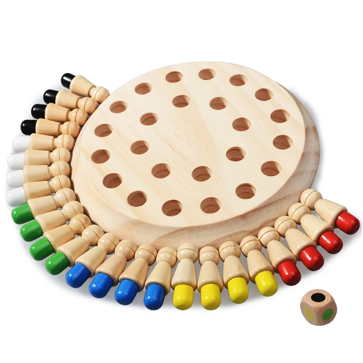 Wooden Memory Match Stick Chess(  Buy 2(Save 10% OFF) +FREE SHIPPING  )