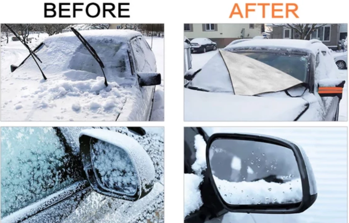 FULL PROTECTION WINDSHIELD COVER - 50% OFF TODAY ONLY