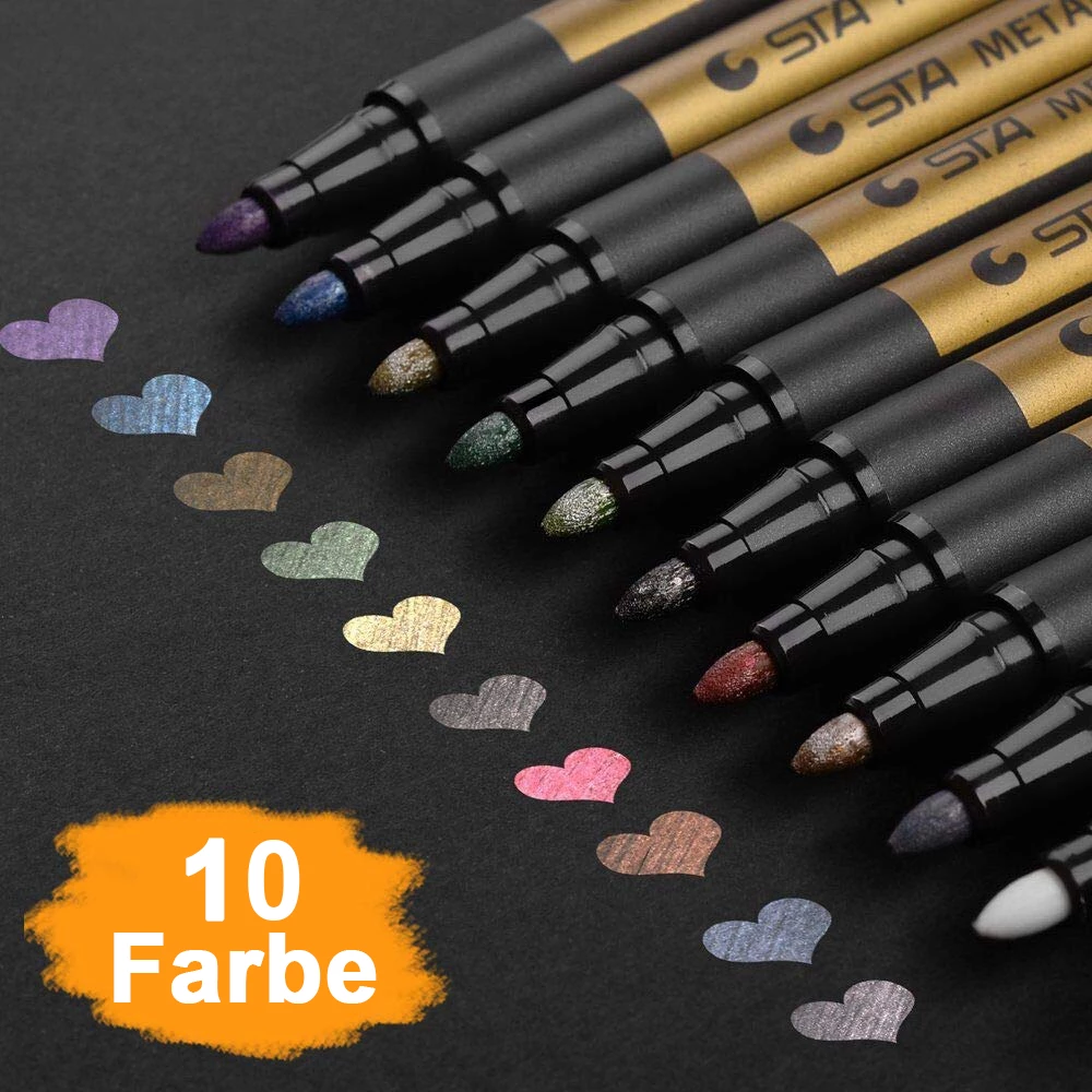 Waterproof Paint Marker Pens (Contains 10 colors)Buy 2 FREE SHIPPING