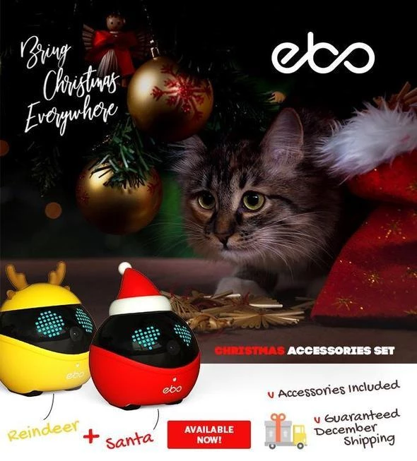 Christmas Pre-Sale 🔥🔥 - Smartest Robot For Your Cats【buy2 Free Shipping】