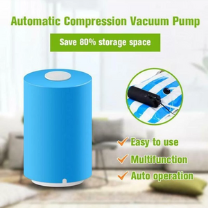 Mini Automatic Compression Vacuum Sealer(Monthly Special+ 2 Bags included)