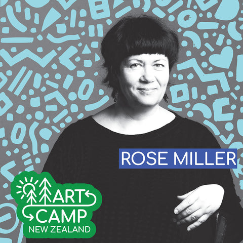 Get to know Rose Miller from Moomaland before Art Camp N.Z 2020!