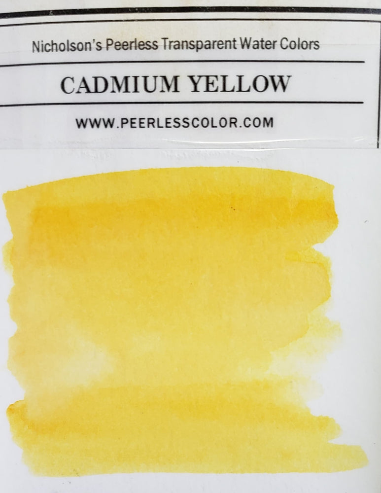 Cadmium Yellow - Dry Peerless Water Color - Single Sheet
